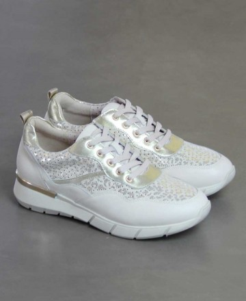 Catchalot Sneakers de piel Stephen Allen 10833-L7 oro