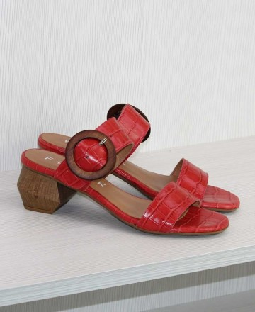 Catchalot Catchalot 27915 Block Heeled Sandals