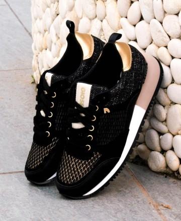 Sneakers negras Gioseppo Anzac 58627