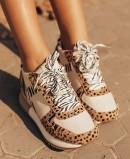 Sneaker animal print Gioseppo Bikaner 58647