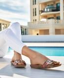 Yokono Ibiza 134 flat sandals