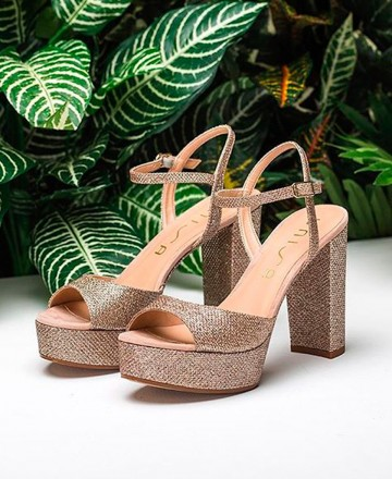 Catchalot Unisa Vegara platform sandals