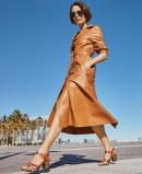 Yokono Floren 001 leather heeled sandals