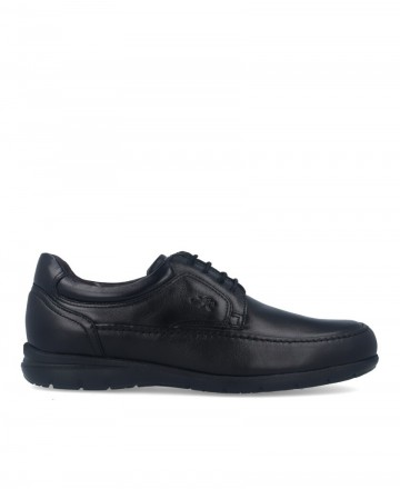 Fluchos Luca 8498 Black Lace-up Classic Shoes