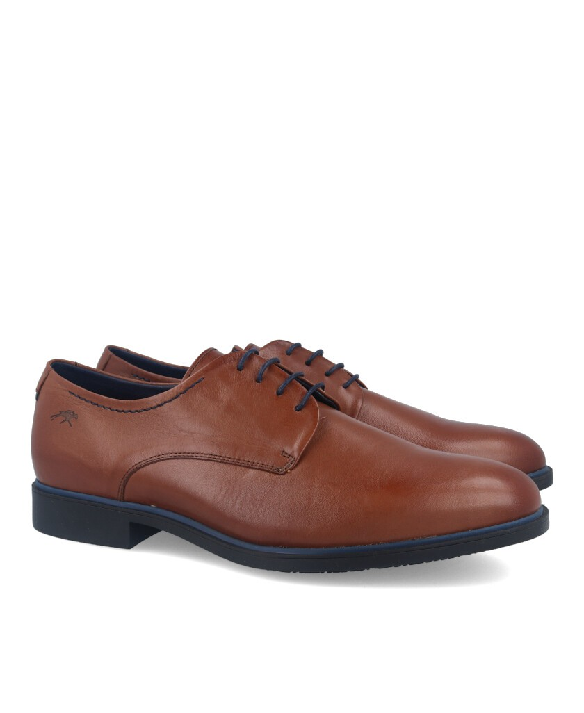Fluchos Coloso 9834 leather lace-up shoes