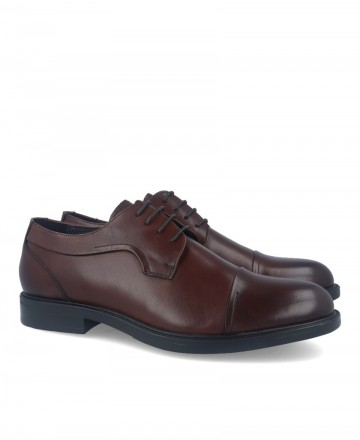 Hobbs M55 59103L Brown Lace-up Dress Shoes