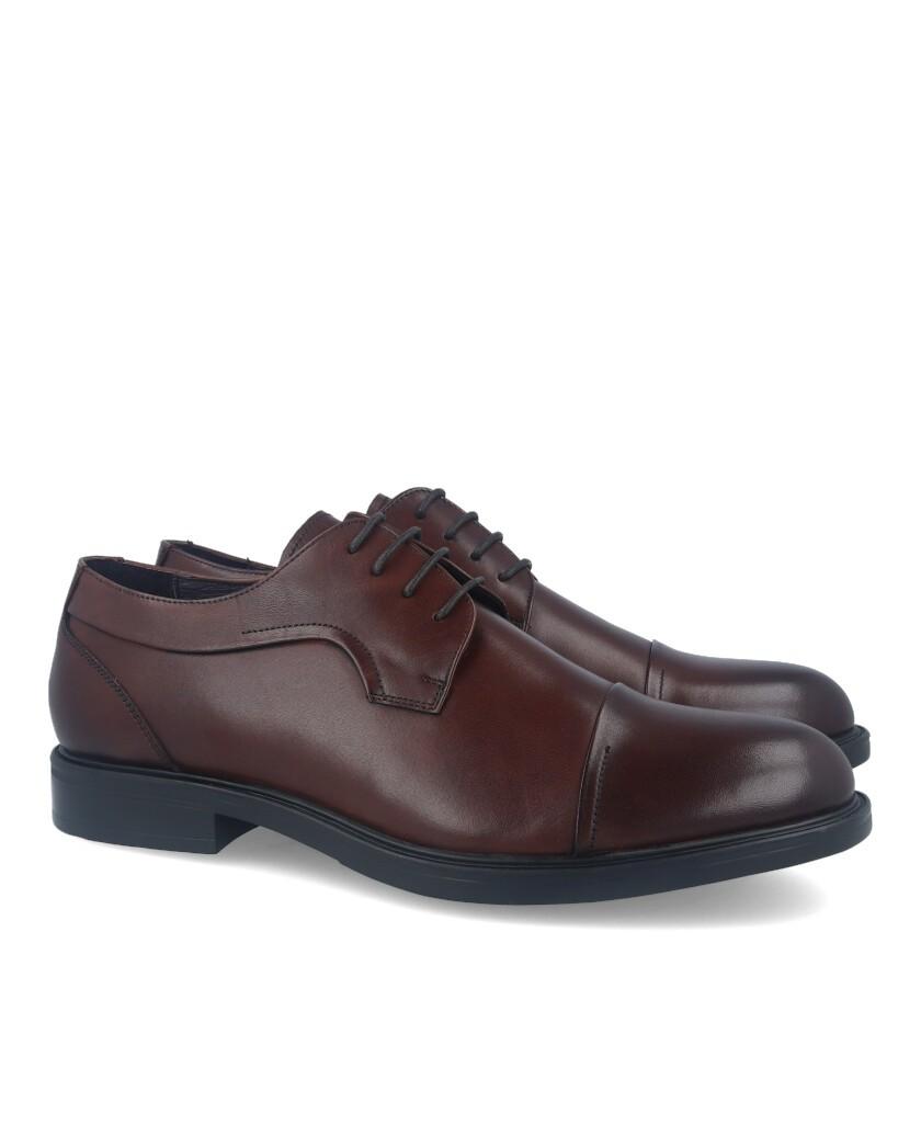 Hobbs M55 59103L Brown Lace-up Dress Shoes