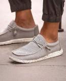 Zapatillas grises Dude shoes Wally Sox