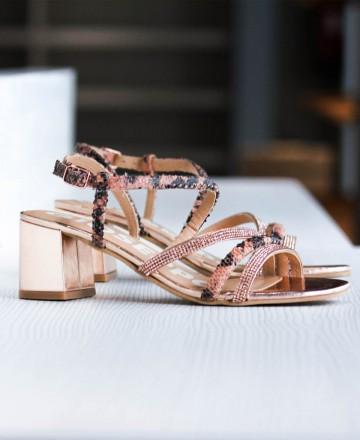 Catchalot Gioseppo Belk 59823 Thin Heel Thin Strap Sandals