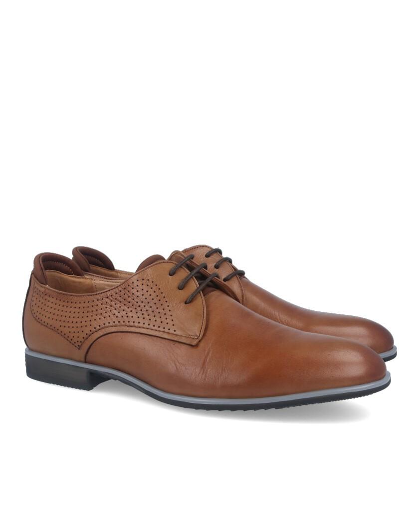 Zapatos Hobbs MC47006-02-14620 cuero