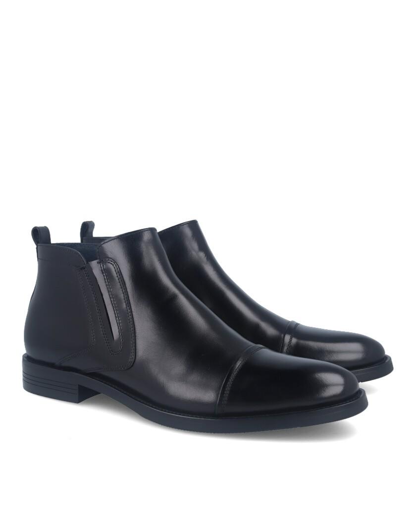 Botas de vestir para hombre negras Hobbs M33B 203705-13