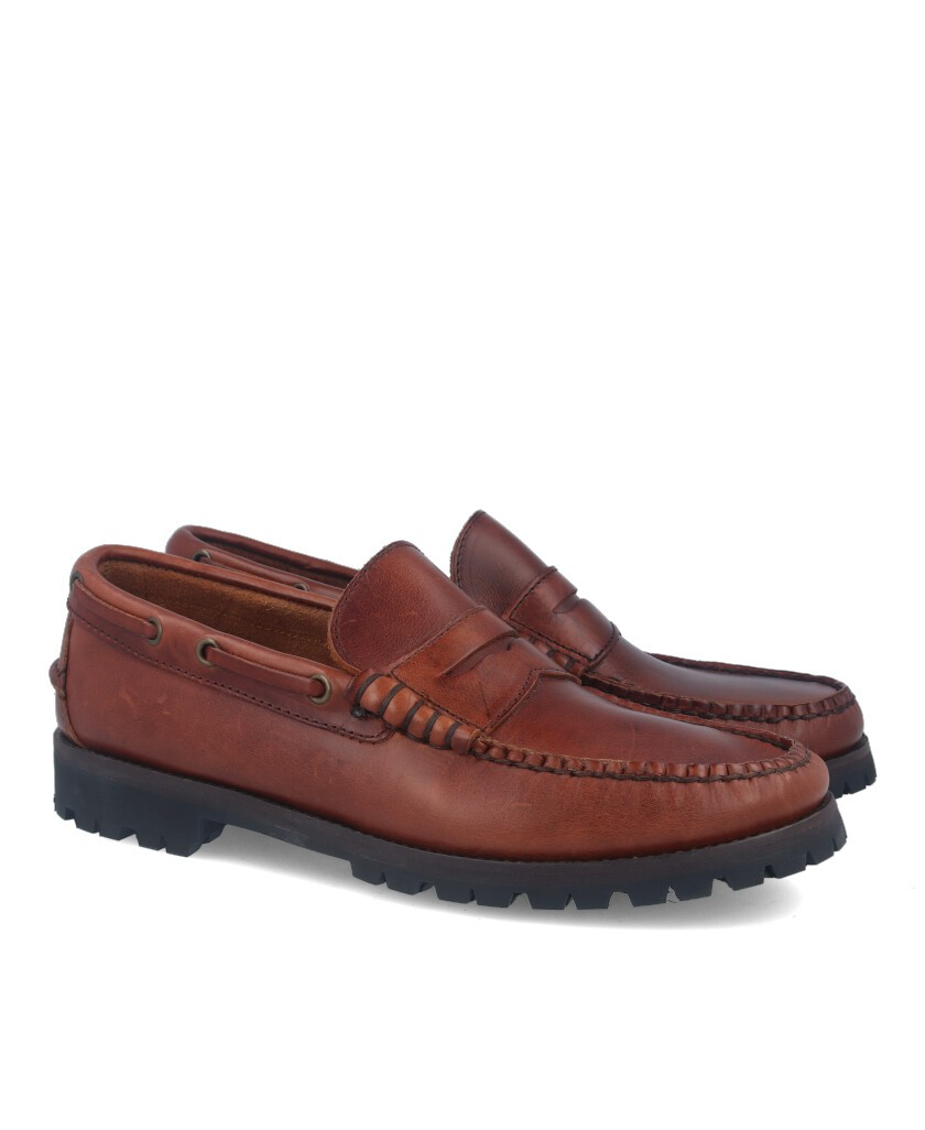 Catcalot 901-R Leather Loafers