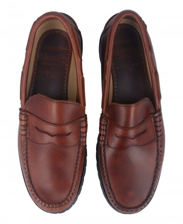 Catchalot Catcalot 901-R Leather Loafers