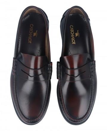 Catchalot Burgundy Catchalot 5015 loafers