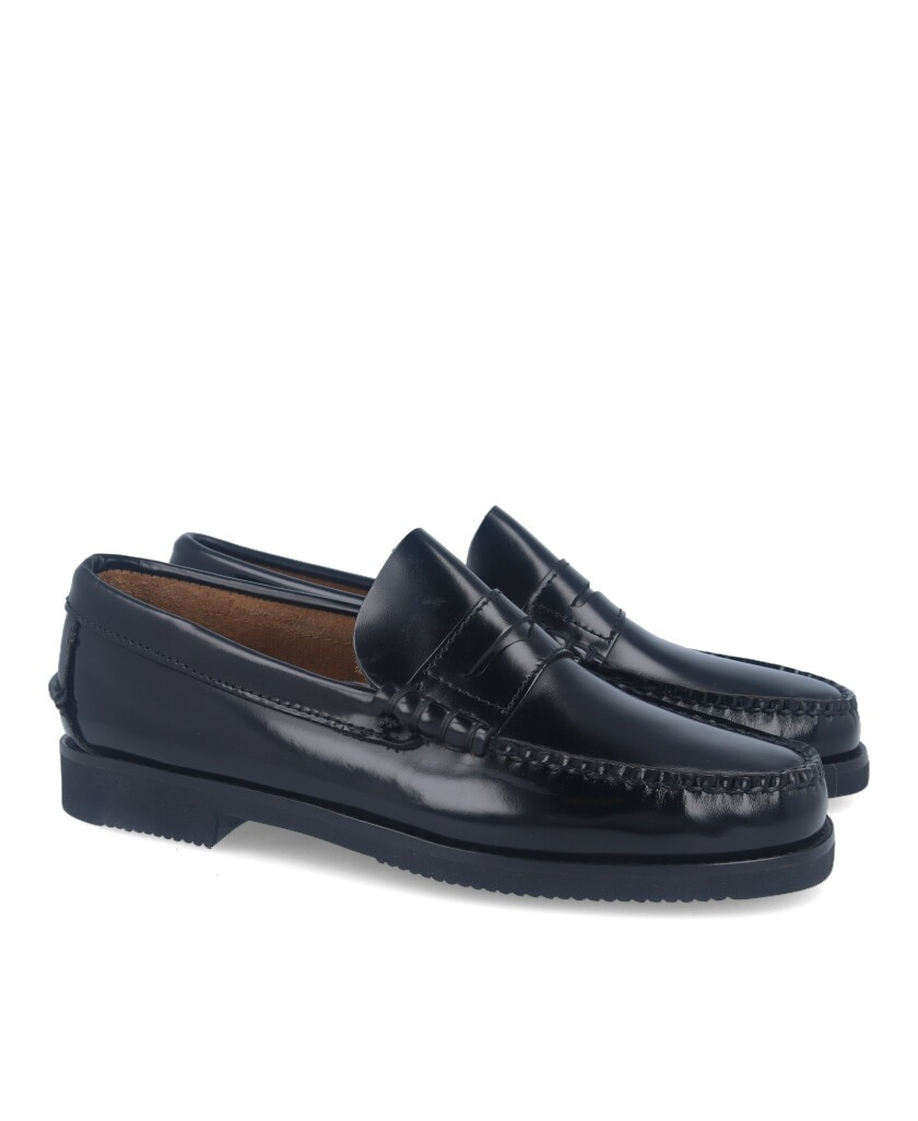 Catchalot 101 men's black loafers