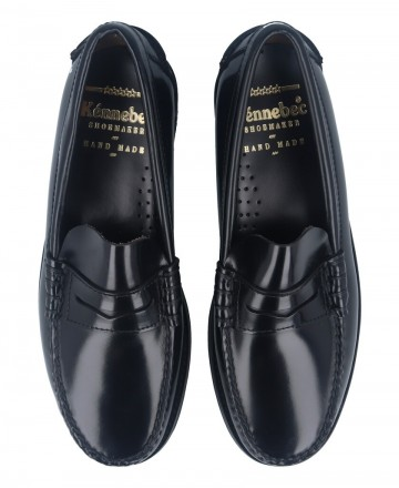 Catchalot Catchalot 101 men's black loafers