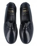 Catchalot 101 men's black loafers