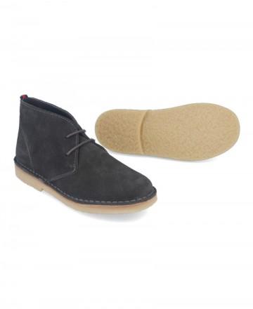 Catchalot Catchalot Safari Gray Flat Ankle Boots