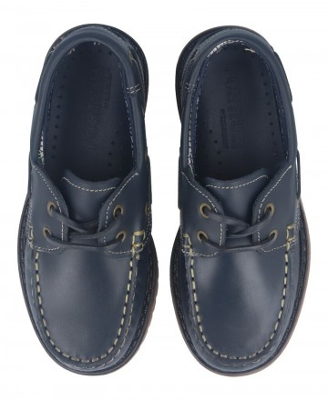 Catchalot Fat 214 Navy Boat Shoes