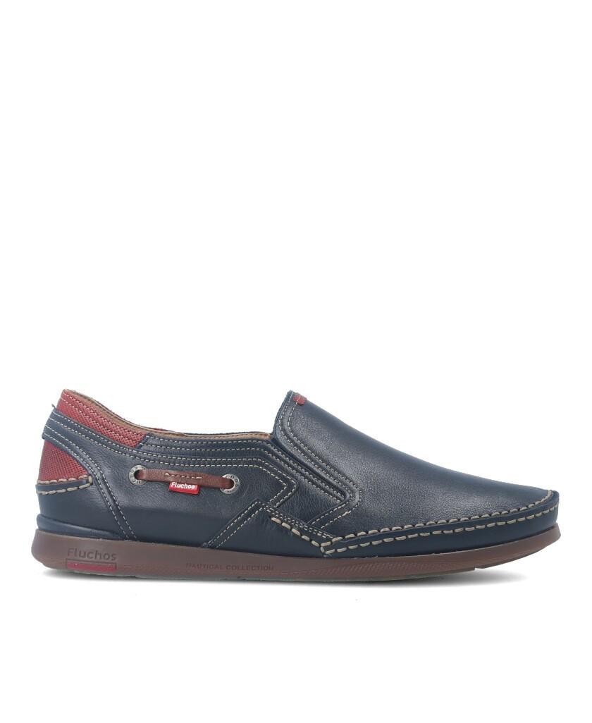Zapatos azules de hombre Fluchos Mariner F9883