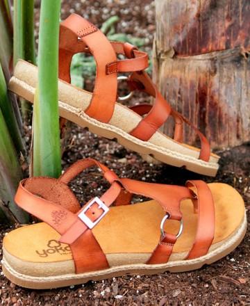 Catchalot Yokono Chipre 021 leather low sandals