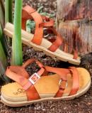 Yokono Chipre 021 leather low sandals