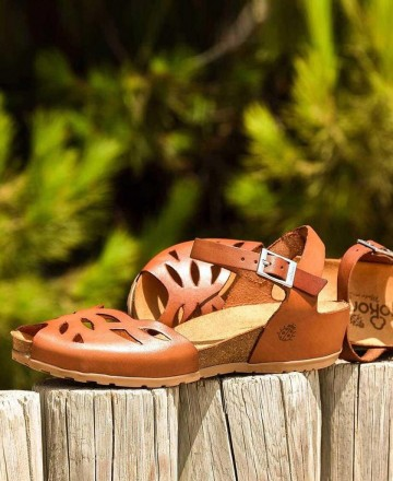 Catchalot Yokono Capri 003 leather crab sandals