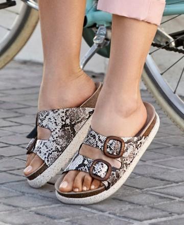 Catchalot Yokono Caleta 002 snake comfortable sandals