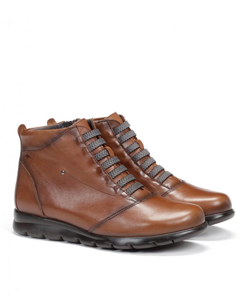 Brown ankle boots Fluchos Susan F0356