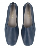 The Flexx Huge Grant women's blue leather loafers