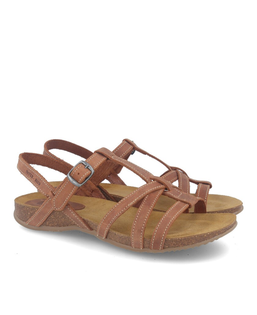 Inter-Bios 4408 leather strappy sandals