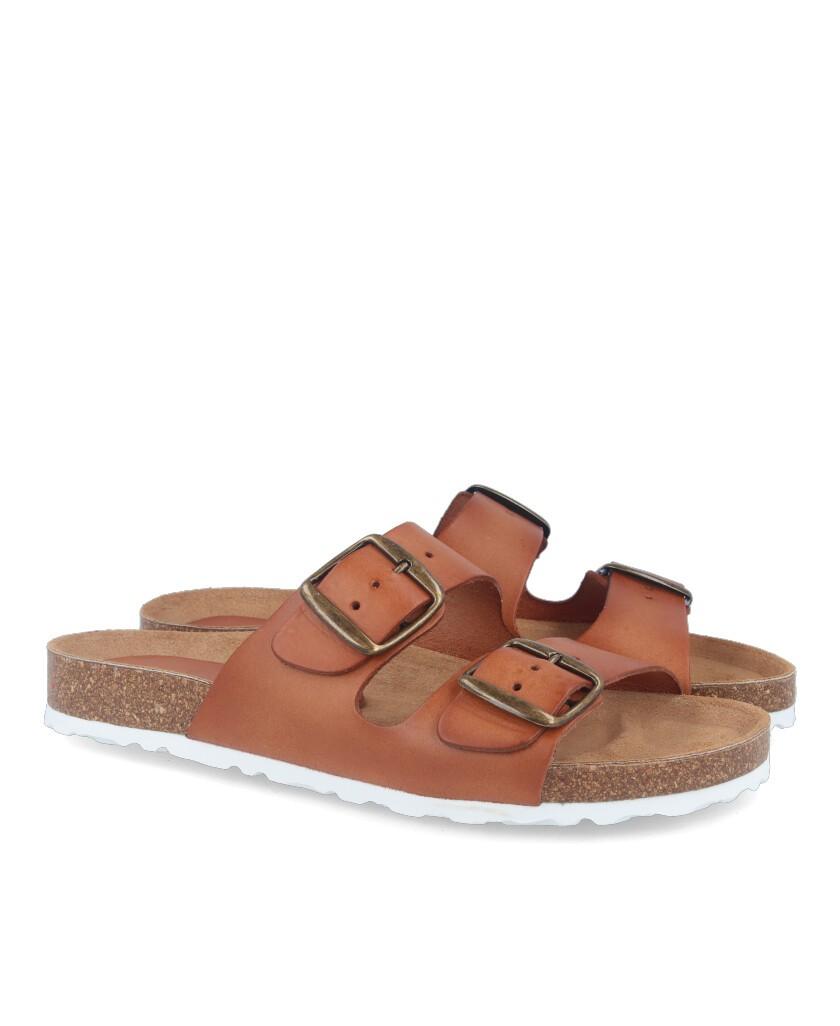 Color Feet Turkita leather flat sandals