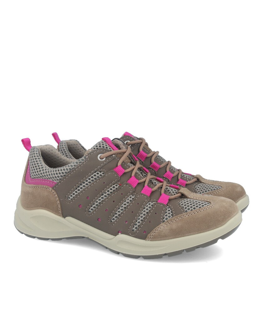 Sport with mesh Imac 307390 Taupe