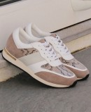 Lace-up sneakers Stephen Allen 10833-C11 taupe