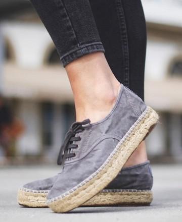 Catchalot Zapatos de esparto Natural World Old Zen 687E gris