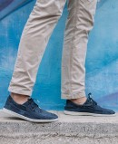 Classic shoes Natural World Old Elbrus 303 E navy blue