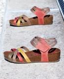 Bio wedge sandals Inter-Bios 5338 multicolour