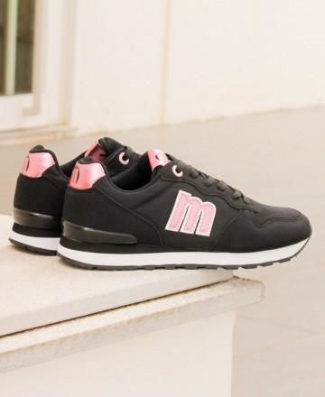 Black sneakers Mustang Joggo 69705