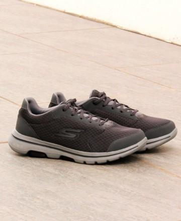 Catchalot Skechers Go Walk 5 Qualify 55509 Gray Sneakers