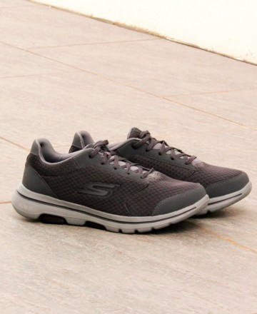Catchalot Zapatillas grises Skechers Go Walk 5 Qualify 55509
