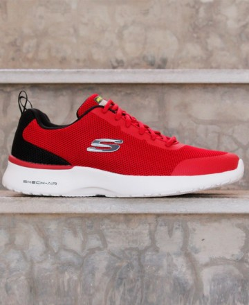 Red skechers Skech-Air Dynamight Winly 232007