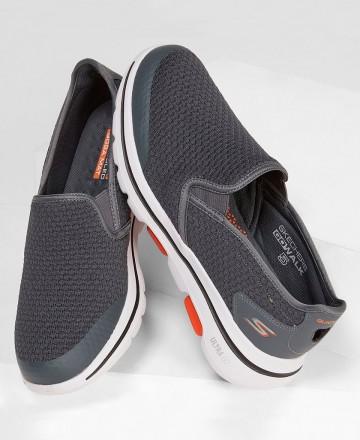 Catchalot Deportivas Skechers Go Walk 5 Aprize 55510 gris