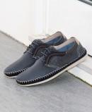 Zapatos camping cómodos azul marino Himalaya 2606
