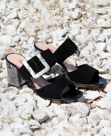 Catchalot Repo Phil Gatiér 47119 wide heeled sandal