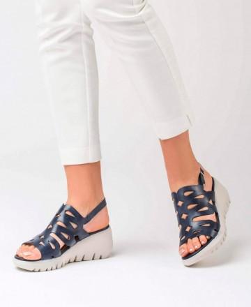 Catchalot Wonders strap sandal D-9003 blue