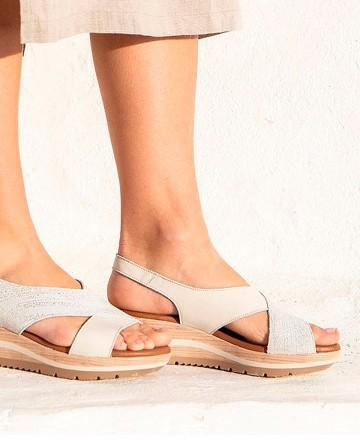 Catchalot Paula Urban 1-8068 wedge sandal