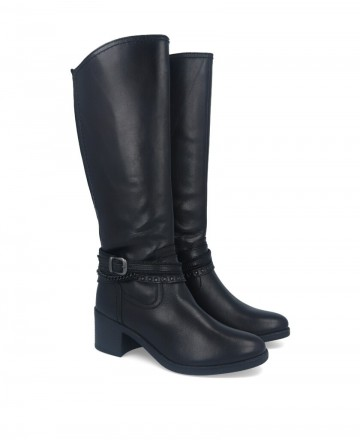 Tall boot with straps Myers L179-W15176