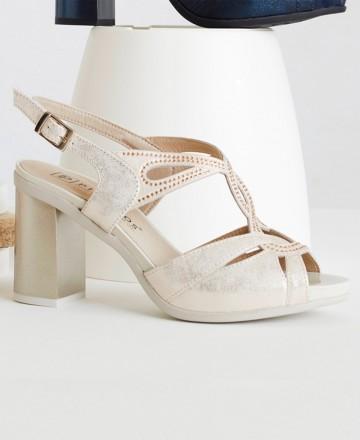 Catchalot Gold sandals Pitillos 6160
