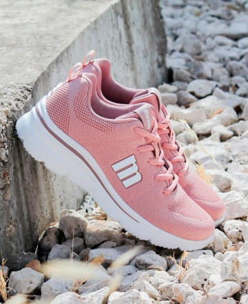Catchalot Pink Sneakers Mustang 69610 Somo