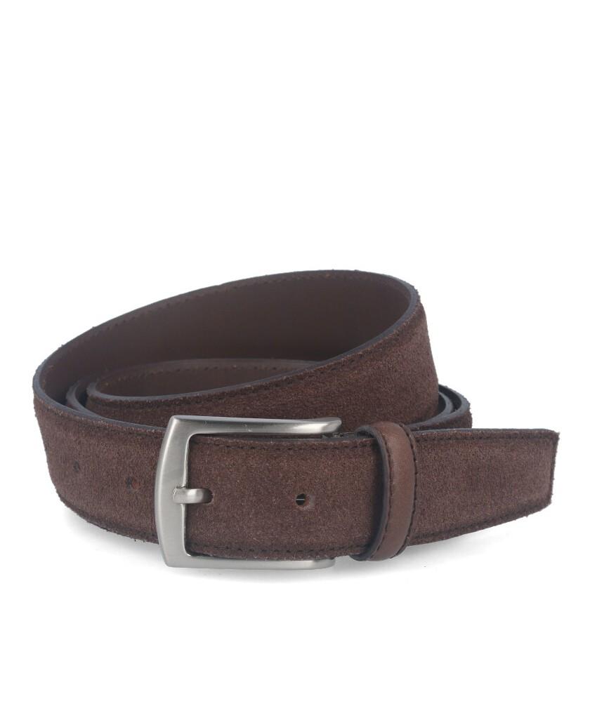 Cinturón de piel Bellido 150-32 Marrón